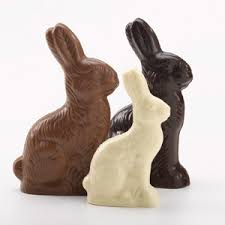 chocoate Easter bunnies
