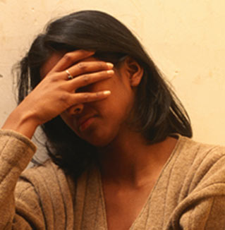 Women in personal distress