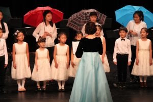 Koreen children choir