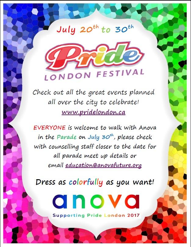 Pride London_AnovaPoster