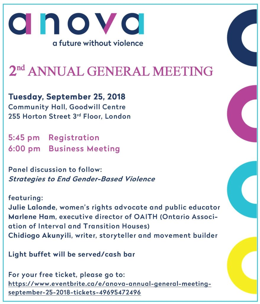 AGM 2018 Invitation